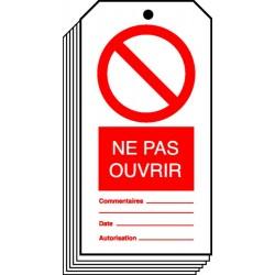Etiquette Ne Pas Ouvrir
