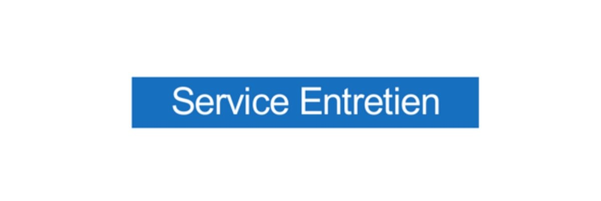 Panneau Service Entretien