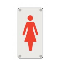 Plaque Toilettes Femmes Picto