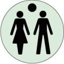 Toilettes mixtes...Gamme Sablée Ø120mm