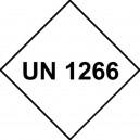UN 1266 Vinyle 250x250mm