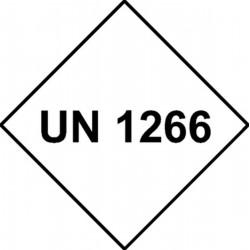 Etiquette UN 1266 Vinyle