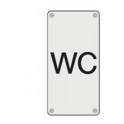 Plaque WC
