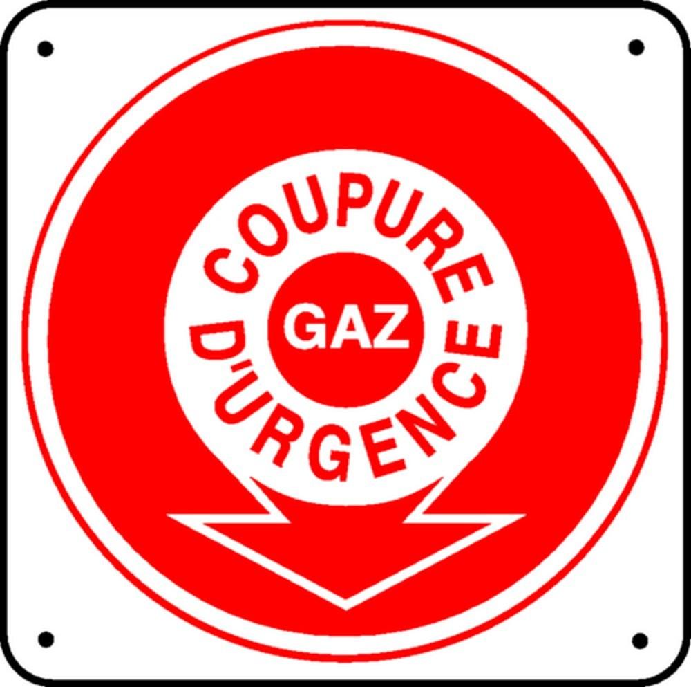 Pictogramme Coupure d'Urgence Gaz
