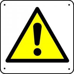 Panneau Danger ! Picto