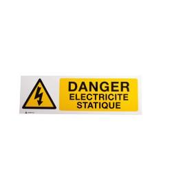 Panneau Danger Electricité Statique
