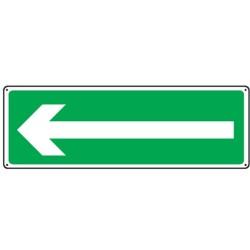 Panneau Flèche de Direction Secours Picto