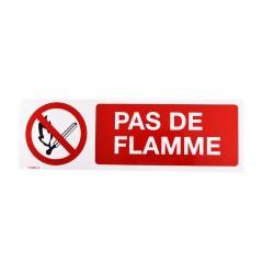 Panneau Pas de flamme