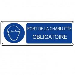 Panneau Port de la Charlotte Obligatoire