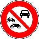 Circulation interdite aux 2 roues Classe 1 Ø450mm