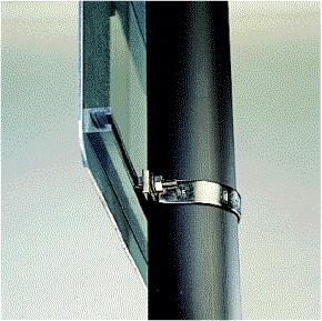 Collier fixation Inox (circulation privée)