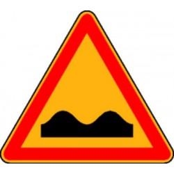 Panneau Danger cassis (avec pied) Classe T