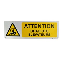 Panneau Attention Chariots Elevateurs