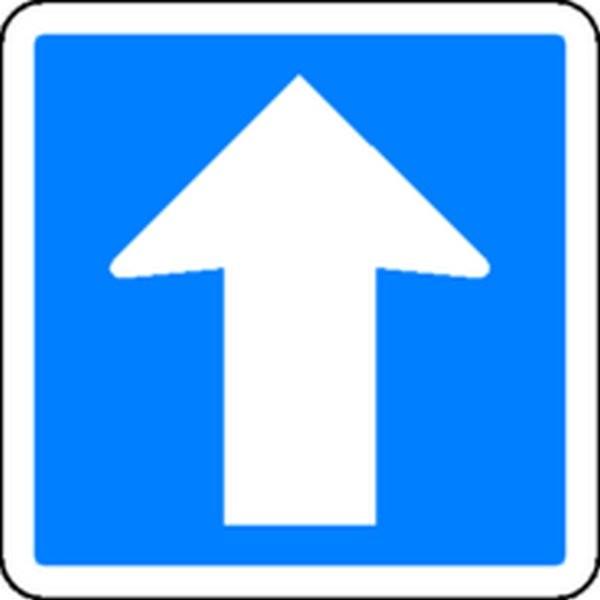 Panneau Circulation à sens unique Classe 1