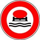 Panneau Interdiction marchandises polluantes Classe 1
