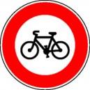 Panneau Interdit aux vélos Classe 1