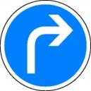Obligation  de tourner à droite Classe2 Ø450mm
