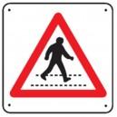 Panneau Attention Passage Piétons