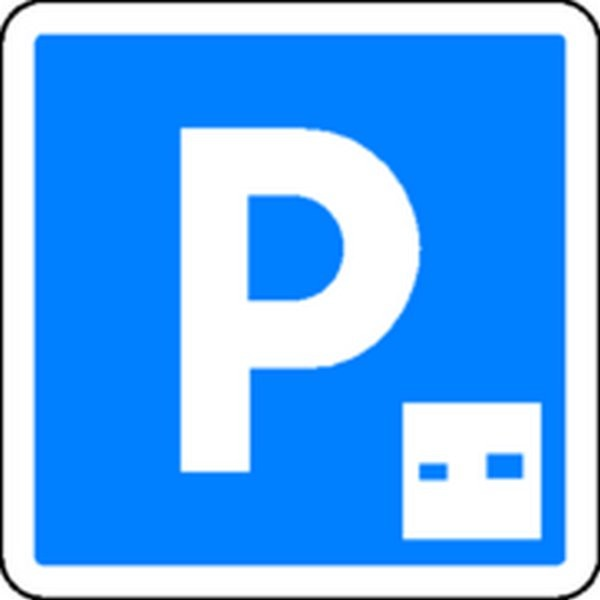 Panneau Parking avec disque Classe 2