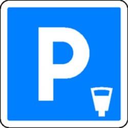 Panneau Parking avec horodateur Classe 2