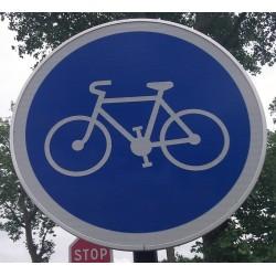 Panneau Piste cyclable Classe 1
