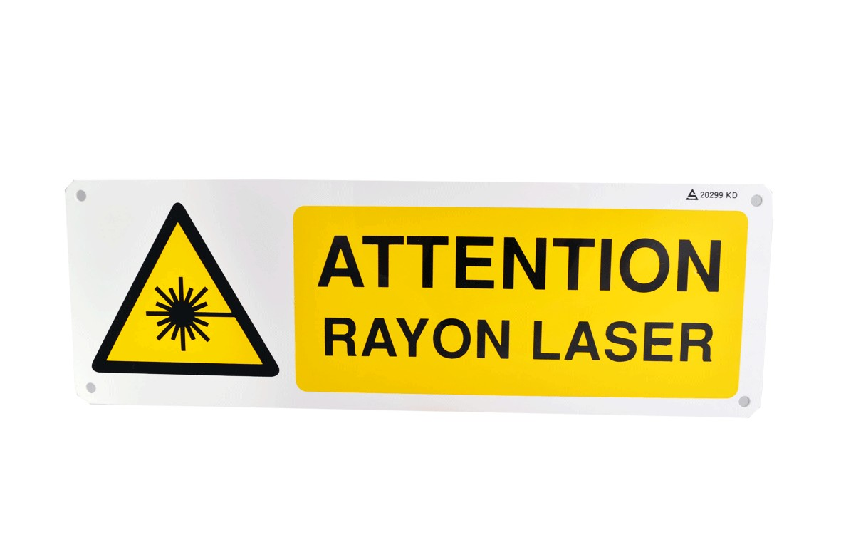 Pictogramme Attention Rayon Laser