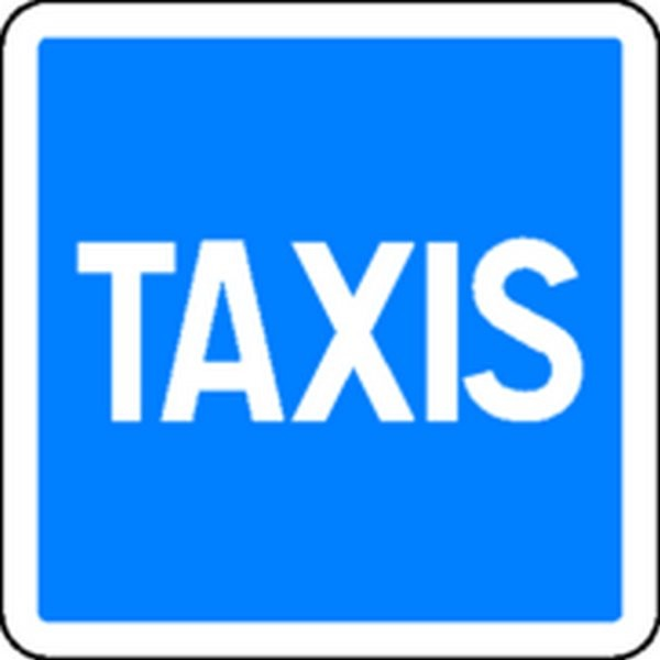 Panneau Taxis Classe 1