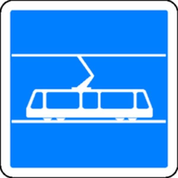 Panneau Tramway Classe 1