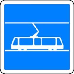 Panneau Tramway Classe 2