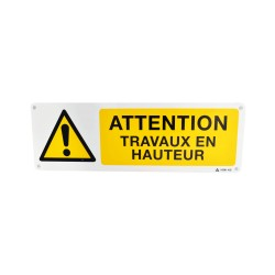 Pictogramme Attention Travaux en Hauteur