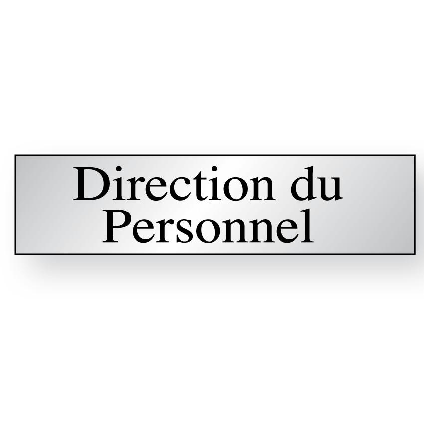 Panneau Direction du Personnel (Inox)