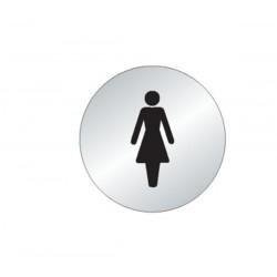Plaque Femme Picto (Inox)