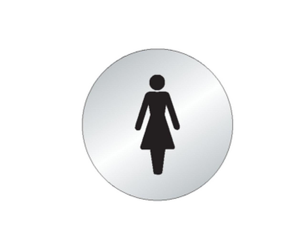 Plaque Femme Picto