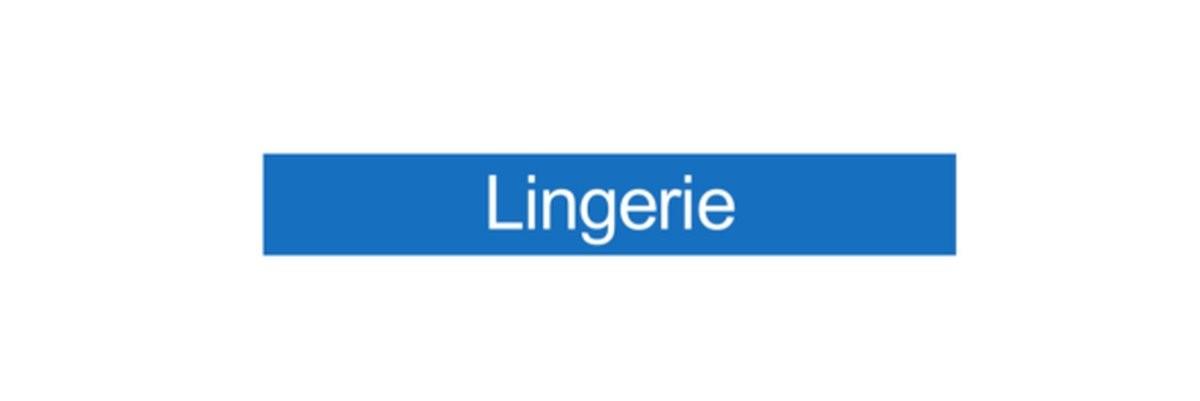Panneau Lingerie