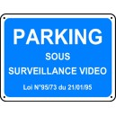 Parking sous surveillance vidéo Renforcé