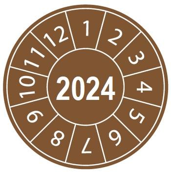 Pastille calendrier 2024