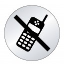 Téléphone portable interdit Picto (lnox)