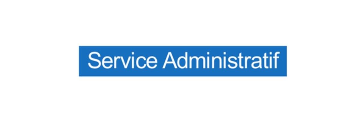 Panneau Service Administratif