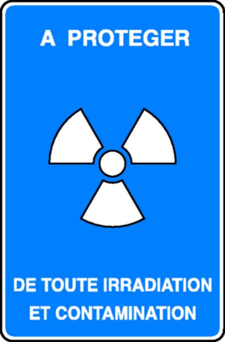 Panneau A protéger de toute irradiation et contamination