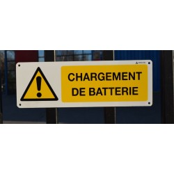 Panneau Chargement de batterie