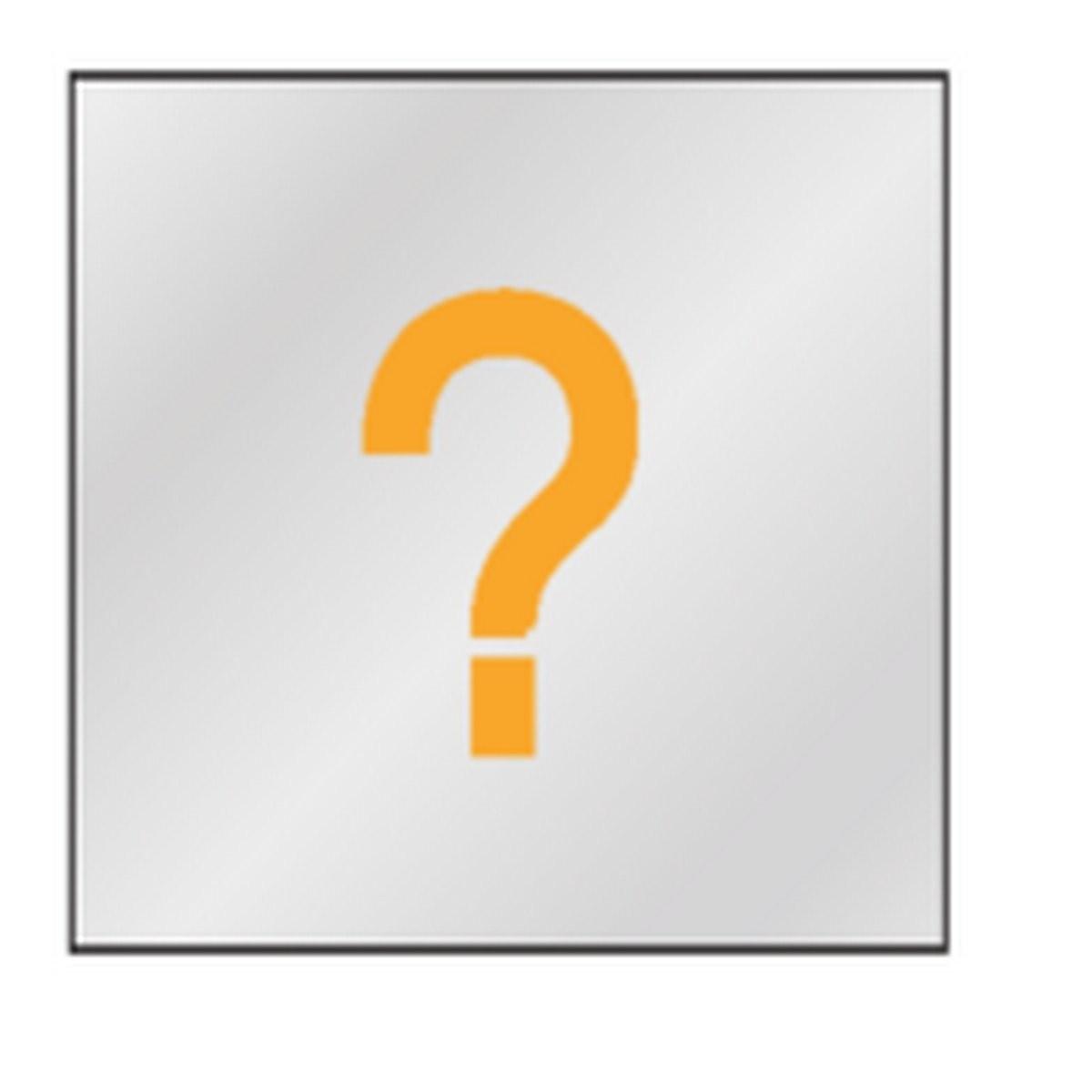 Plaque bureau sur mesure ( Picto)