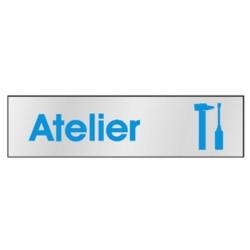 Plaque Atelier