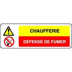 Pictogramme Chaufferie Défense de fumer