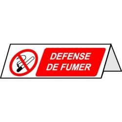 Chevalet 'Défense de Fumer'