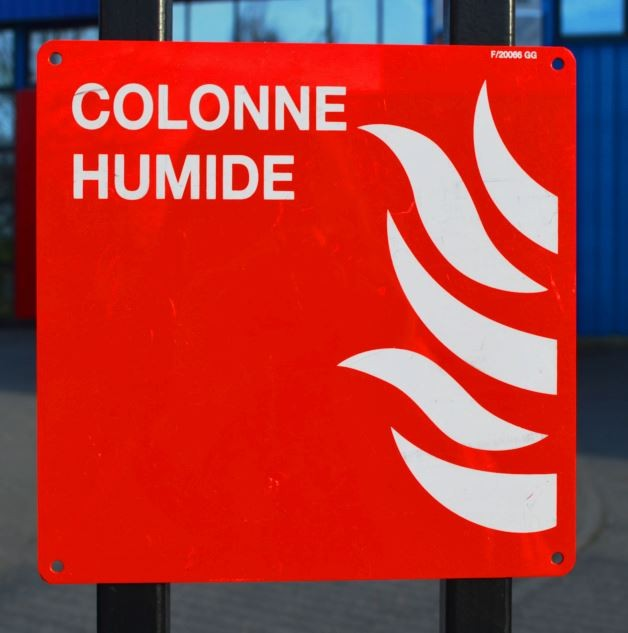 Pictogramme Colonne humide