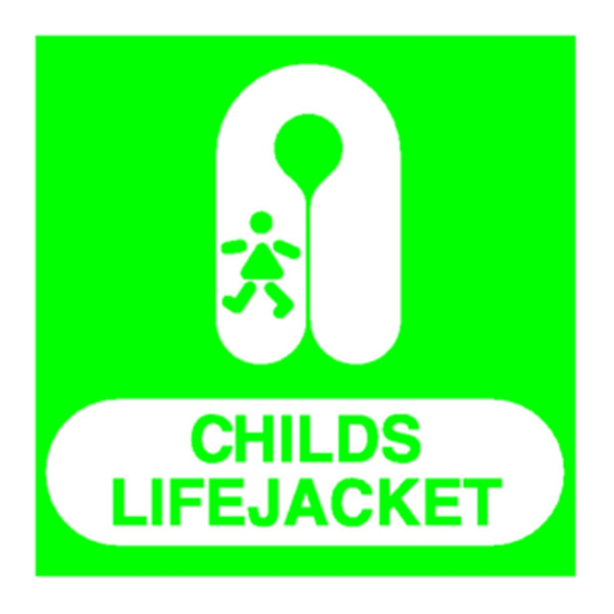 Panneau Childs Life Jacket