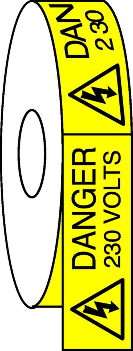 Pictogramme Danger 230 Volts Etiquettes