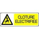 Danger Clôture Electrifiée