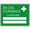 En Cas d'Urgence Contactez