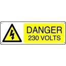 Danger 230 Volts
